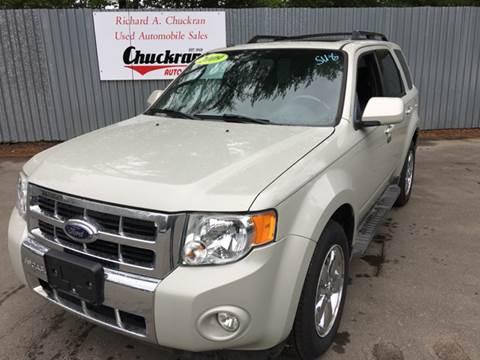 2009 Ford Escape for sale at Chuckran Auto Parts Inc in Bridgewater MA