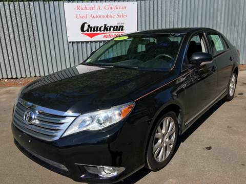2011 Toyota Avalon for sale at Chuckran Auto Parts Inc in Bridgewater MA