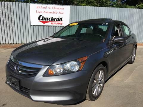 2012 Honda Accord for sale at Chuckran Auto Parts Inc in Bridgewater MA