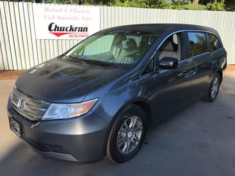 2012 Honda Odyssey for sale at Chuckran Auto Parts Inc in Bridgewater MA