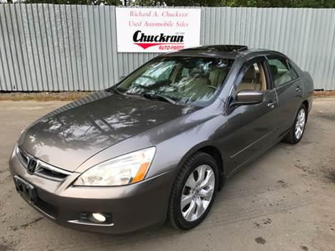 2007 Honda Accord for sale at Chuckran Auto Parts Inc in Bridgewater MA