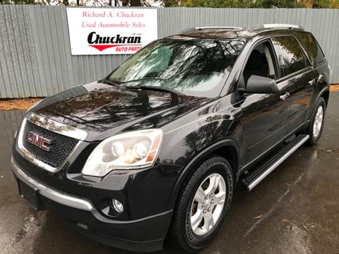 2012 GMC Acadia for sale at Chuckran Auto Parts Inc in Bridgewater MA