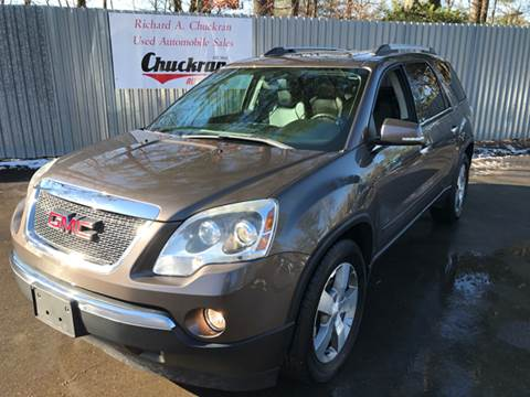 2011 GMC Acadia for sale at Chuckran Auto Parts Inc in Bridgewater MA
