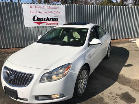 2011 Buick Regal for sale at Chuckran Auto Parts Inc in Bridgewater MA