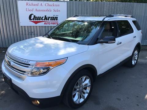 2013 Ford Explorer for sale at Chuckran Auto Parts Inc in Bridgewater MA