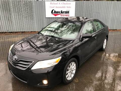 2011 Toyota Camry for sale at Chuckran Auto Parts Inc in Bridgewater MA