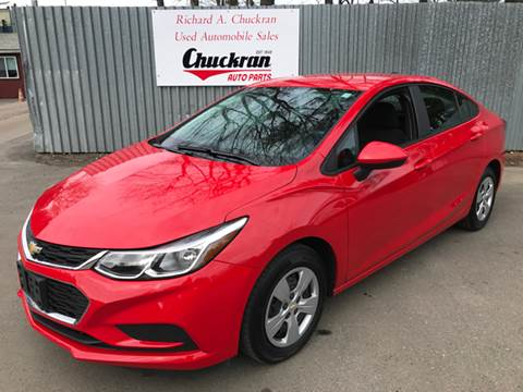 2016 Chevrolet Cruze for sale at Chuckran Auto Parts Inc in Bridgewater MA