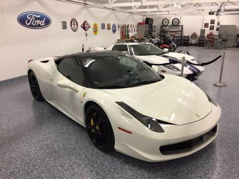 2013 Ferrari 458 Italia for sale in Bridgewater, MA