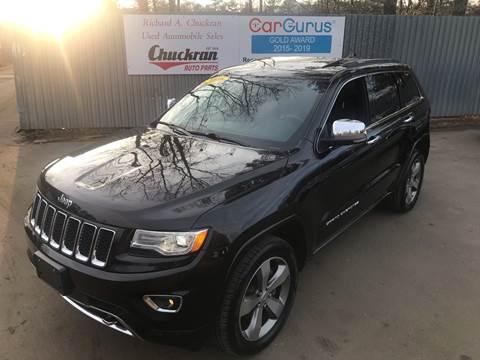 2016 Jeep Grand Cherokee for sale at Chuckran Auto Parts Inc in Bridgewater MA