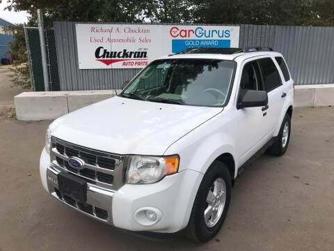 2012 Ford Escape for sale at Chuckran Auto Parts Inc in Bridgewater MA