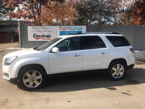 2017 GMC Acadia Limited for sale at Chuckran Auto Parts Inc in Bridgewater MA