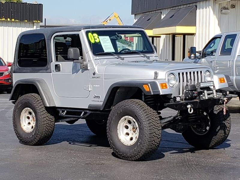 2003 Jeep Wrangler For Sale At J U0026 L AUTO SALES In Tyler TX