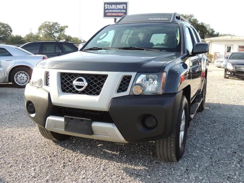 2009 Nissan Xterra 4x4 X 4dr Suv 5a In Orlando Fl Starlings Auto