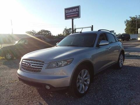 2003 Infiniti FX35 for sale at Sardonyx Auto Inc in Orlando FL