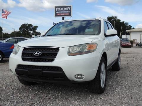 2007 Hyundai Santa Fe for sale at Sardonyx Auto Inc in Orlando FL