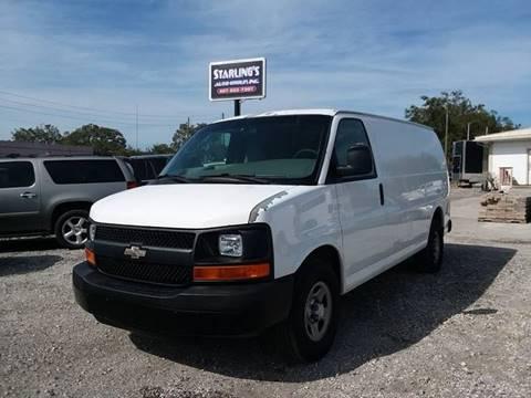 2007 Chevrolet Express Cargo For Sale In Jacksonville FL