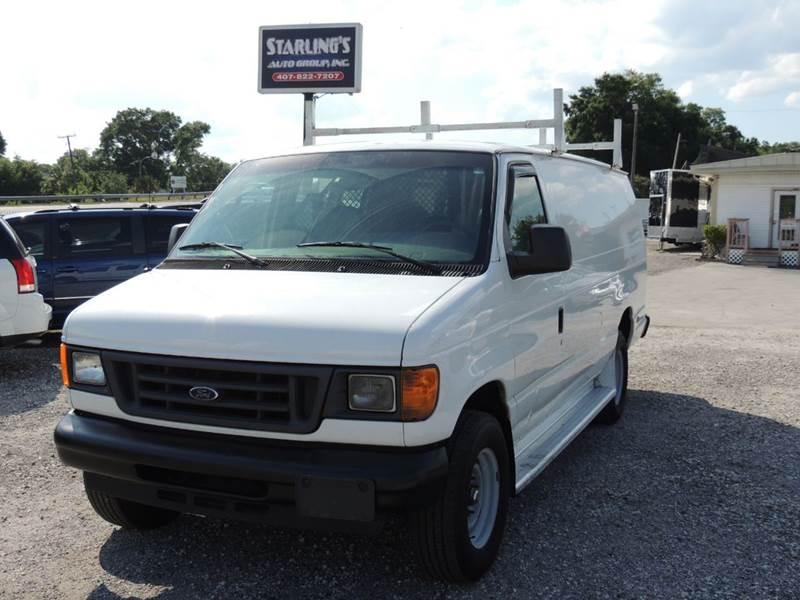 2006 Ford E-Series Cargo for sale at Sardonyx Auto Inc in Orlando FL