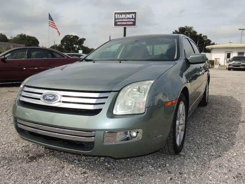 2006 Ford Fusion for sale at Sardonyx Auto Inc in Orlando FL
