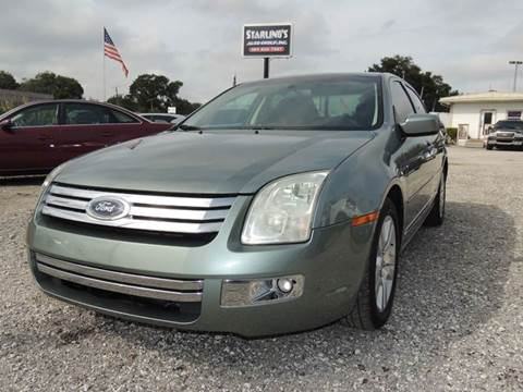 2006 Ford Fusion for sale at Sardonyx Auto Inc in Orlando FL