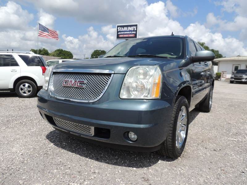 2007 GMC Yukon XL for sale at Sardonyx Auto Inc in Orlando FL