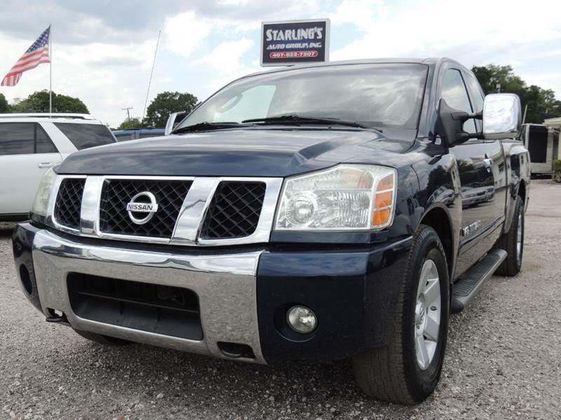 2007 Nissan Titan for sale at Sardonyx Auto Inc in Orlando FL