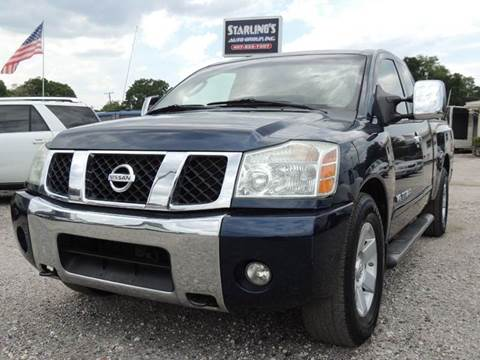 2007 Nissan Titan for sale at Sardonyx Auto Inc in Orlando FL