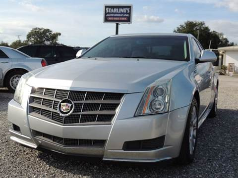 2010 Cadillac CTS for sale at Sardonyx Auto Inc in Orlando FL