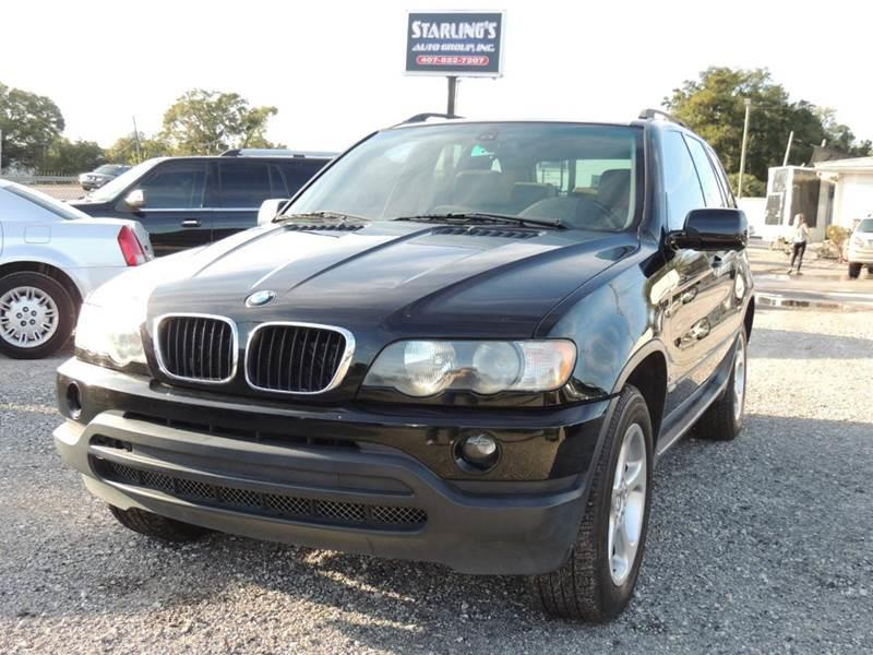 2002 BMW X5 for sale at Sardonyx Auto Inc in Orlando FL