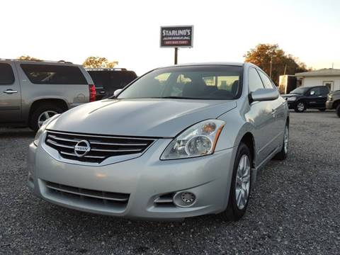 2012 Nissan Altima for sale at Sardonyx Auto Inc in Orlando FL
