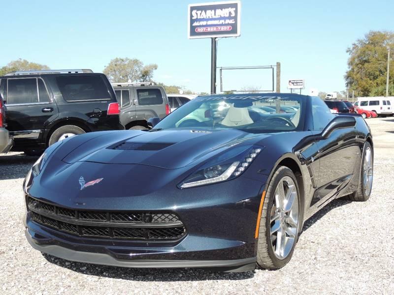 2016 Chevrolet Corvette for sale at Sardonyx Auto Inc in Orlando FL