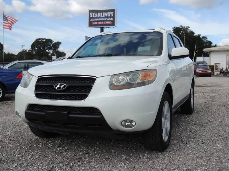 2007 Hyundai Santa Fe for sale at Sardonyx Auto Inc in Orlando FL
