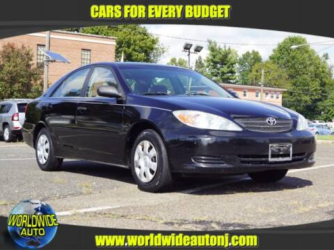 2003 Toyota Camry for sale at Worldwide Auto in Hamilton NJ