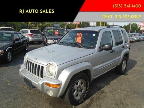 2003 Jeep Liberty for sale in Detroit, MI