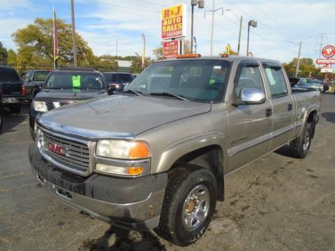2001 GMC Sierra 2500HD for sale in Detroit, MI