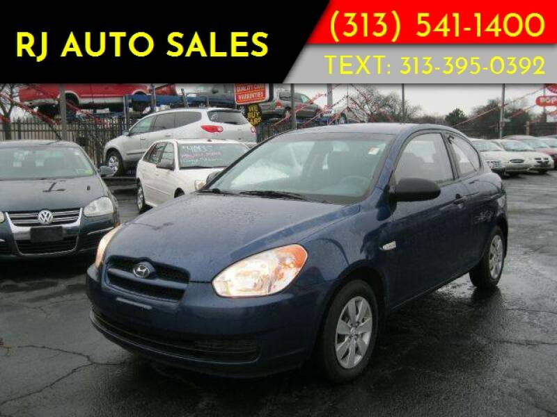 2008 Hyundai Accent GS 2dr Hatchback 4A (late avail)