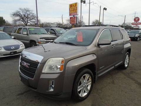 2010 GMC Terrain SLE-2 for sale at RJ AUTO SALES in Detroit MI