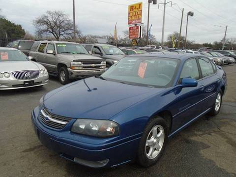 2004 Chevrolet Impala LS for sale at RJ AUTO SALES in Detroit MI