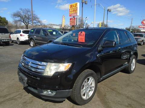 2007 Ford Edge SEL Plus for sale at RJ AUTO SALES in Detroit MI
