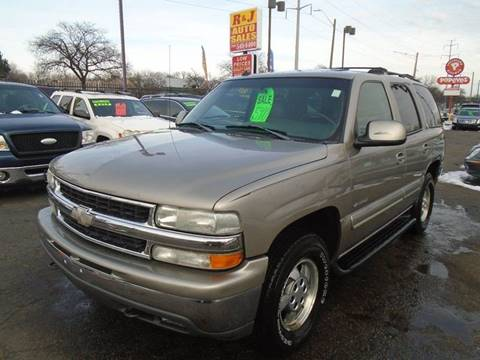 2005 Chevrolet Tahoe LS for sale at RJ AUTO SALES in Detroit MI