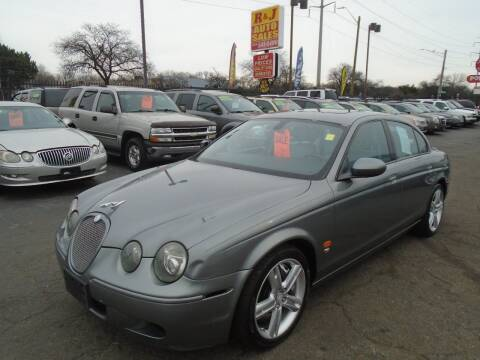 2005 Jaguar S-Type R for sale at RJ AUTO SALES in Detroit MI