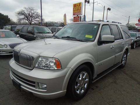 2006 Lincoln Navigator Luxury for sale at RJ AUTO SALES in Detroit MI