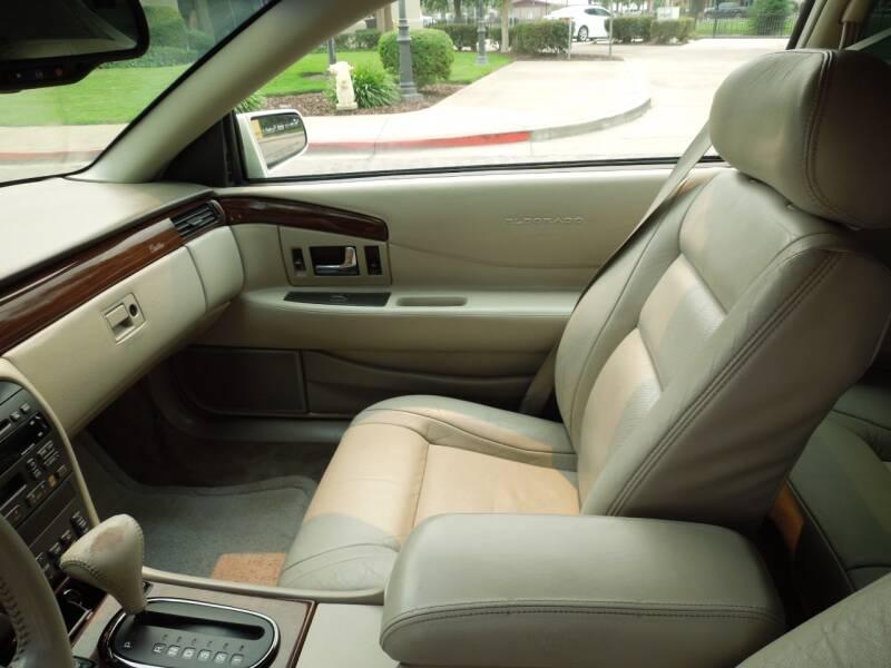 2001 Cadillac Eldorado ETC 2dr Coupe - Oakdale CA