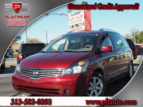 2009 Nissan Quest for sale in Dearborn, MI