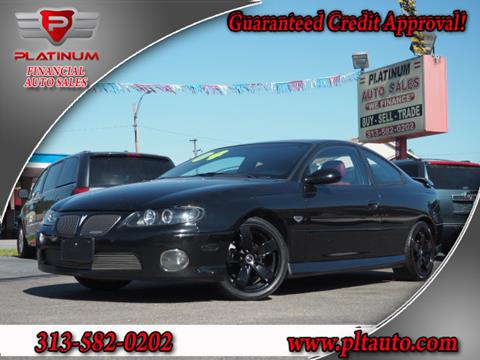 2004 Pontiac GTO for sale in Dearborn, MI
