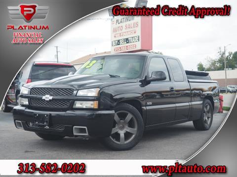 2003 Chevrolet Silverado 1500 SS for sale in Dearborn, MI