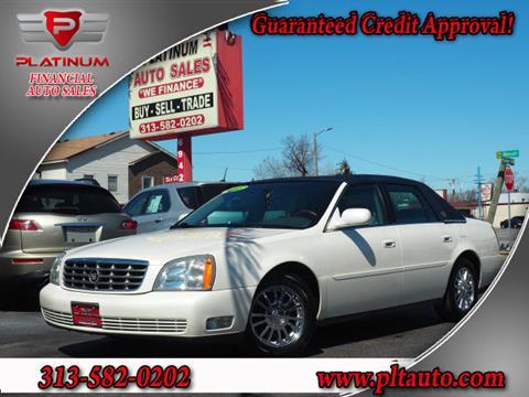 2003 Cadillac DeVille for sale in Dearborn, MI