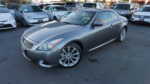 2010 Infiniti G37 Convertible for sale in Sacramento, CA