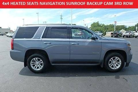 2015 chevrolet tahoe for sale in ohio. Black Bedroom Furniture Sets. Home Design Ideas