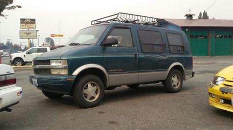 1998 Chevrolet Astro Cargo for sale in Mount Vernon, WA