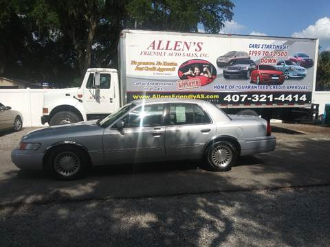 2002 Mercury Grand Marquis for sale in Sanford, FL